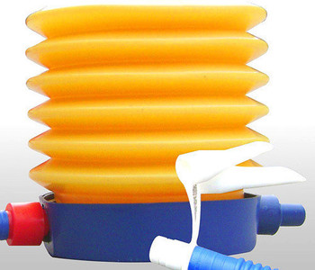 Free Shipping ! Foot pump with spring inflatable tube pump inflatable ball toutle ball jumping horse swimming pool