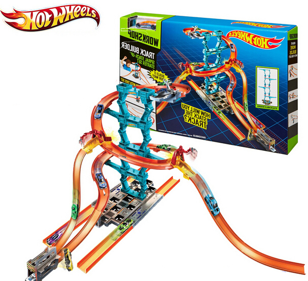Hot Wheels CHX36 Roundabout track toy kids toys Plastic metal miniatures scale cars track model CHX36 classic antique toy car(China (Mainland))