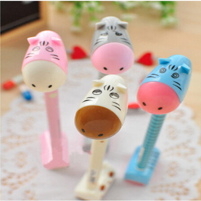 Donkey Shaped Ball Point Pen Ballpen Student Toys School Office Gift Cartoon Stationery - Love Super Yan store