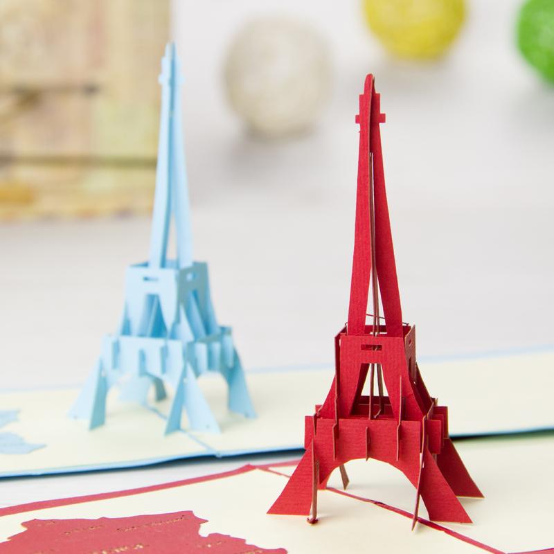 la tour eiffel tower handmade creative kirigami amp origami