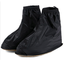 2014 New Fashion Waterproof Rain Shoes Cover Men Rain Gear Rain Boots Flat Overshoes HOT cycling