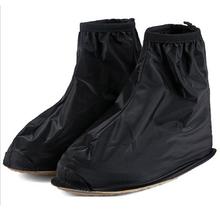 2014 New Fashion Waterproof Rain Shoes Cover Men Rain Gear Rain Boots Flat Overshoes HOT/cycling shoe cover