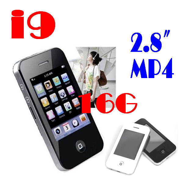"""50% SHIPPING FEE 10 pc New 2.8"""" 16GB Touch Screen I9 4G Style Christmas Mp4 MP5 Player with Camera Game #8441(China (Mainland))"""