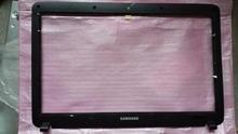 Nueva! envío gratuito para SAMSUNG np R528 R530 R540 RV510 R525 R523 RV508 LCD de bisel delantero recortar la cubierta del caso negro BA75-02563A