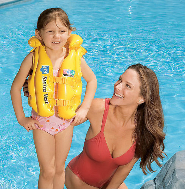 Children's Life Jacket Safety Life Vest Inflatable Swimming Vest Swimsuit Water Safety Products Water Sportswear Free Shipping(China (Mainland))