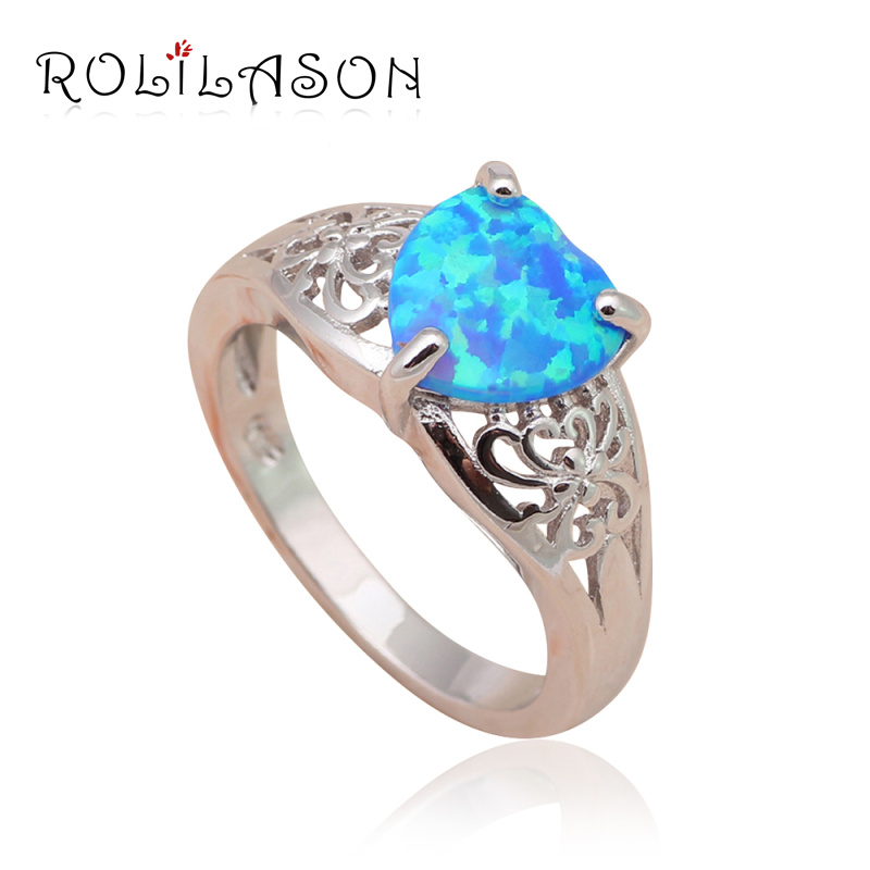 Lovely Opal Wedding Rings for Women