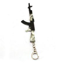 Playerunknown's Battlegrounds брелок с картинкой PUBG камуфляжная игрушка пистолет Модель брелок сумка Шарм брелок ювелирные изделия(China)