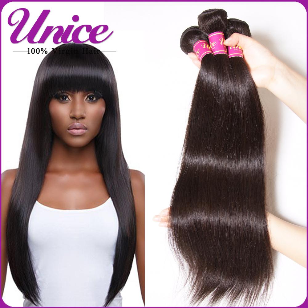 Grade 7A Malaysian Virgin Hair Straight Unprocessed Malaysian Straight Hair Perfumes 100 Original Cuticle Human Hair Weaving(China (Mainland))