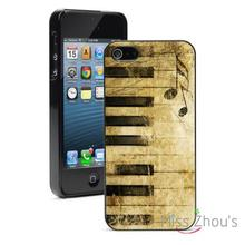 Antique Piano Keys Protector back skins mobile cellphone cases for iphone 4/4s 5/5s 5c SE 6/6s plus ipod touch 4/5/6