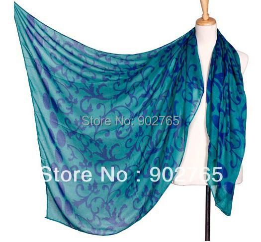 free shipping+big size 10pcs/lot fashion flower large shawls scarf /lady head shawls(China (Mainland))