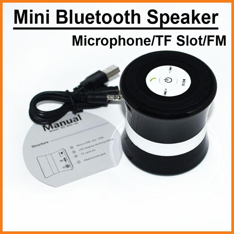 Mini Portable Wireless Stereo Speakers Bluetooth Speaker Microphone FM Radio TF Slot Subwoofer Bass Sound Box