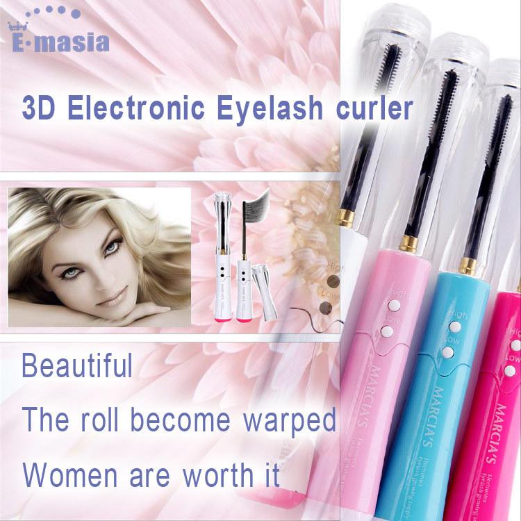 2015 Top Fashion Promotion Makeup Pincel Maquiagem Eyelashes Best Make Up Colourful Electric Heated Extensions Eyelash Curler(China (Mainland))