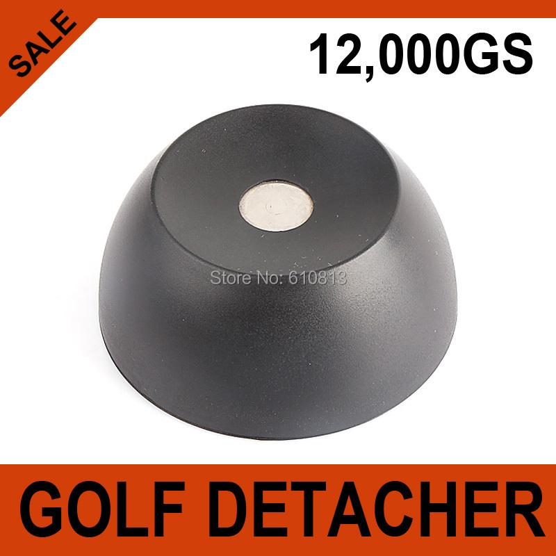 Super Golf Detacher Security Tag Detacher Tag Detacher EAS Tag Remover Magnetic Intensity 12000GS plastic Material Color Black(China (Mainland))