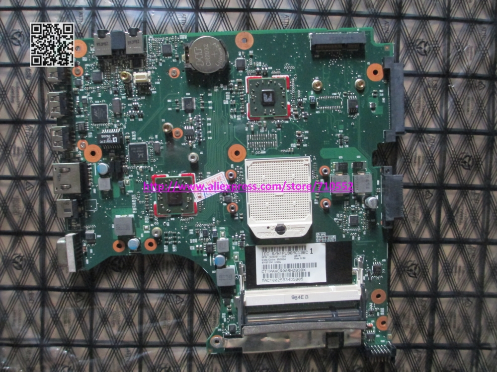 Post air mail free shipping 538391-001 for HP Compaq 515 615 PC motherboard 538391-001 Laptop Mainboard tested Working