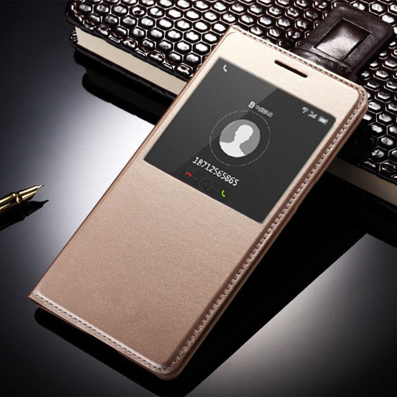 Coque For Samsung A3 2016 A310f A310 Cases Black Pink Gold Leather Flip Cover Cellphone Bookcase Funda with Window Display nf206(China (Mainland))
