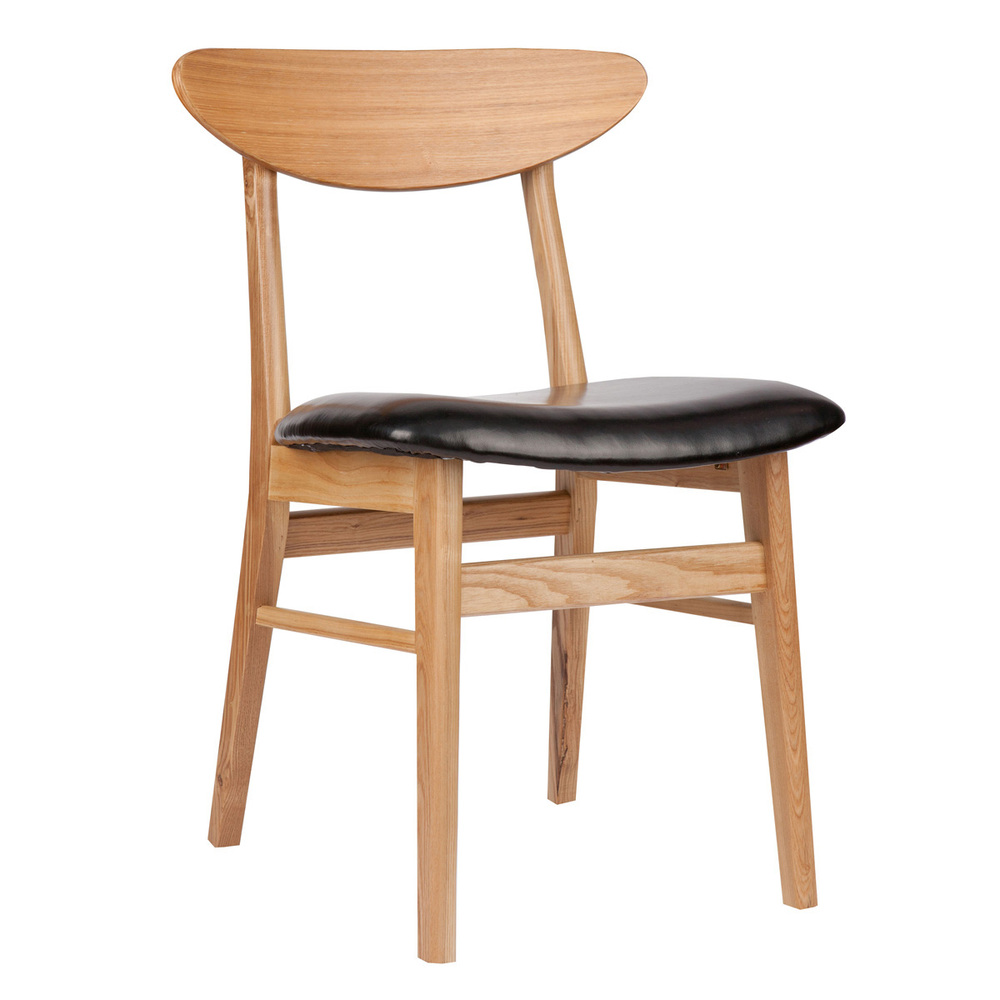 Restaurant chairs wood : Nordic Korean black walnut wood dining chair neoclassical simple retro cafe bar restaurant chairs <strong>Animal Print</strong> Office Chair from bhdreams.com size 1000 x 1000 jpeg 127kB