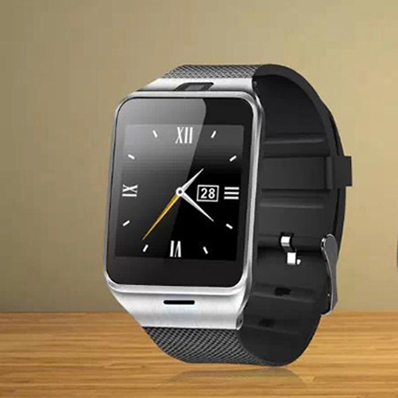 1 55 GSM NFC Camera wrist Watch SIM card Smartwatch Waterproof Aplus GV18 Smart watch phone