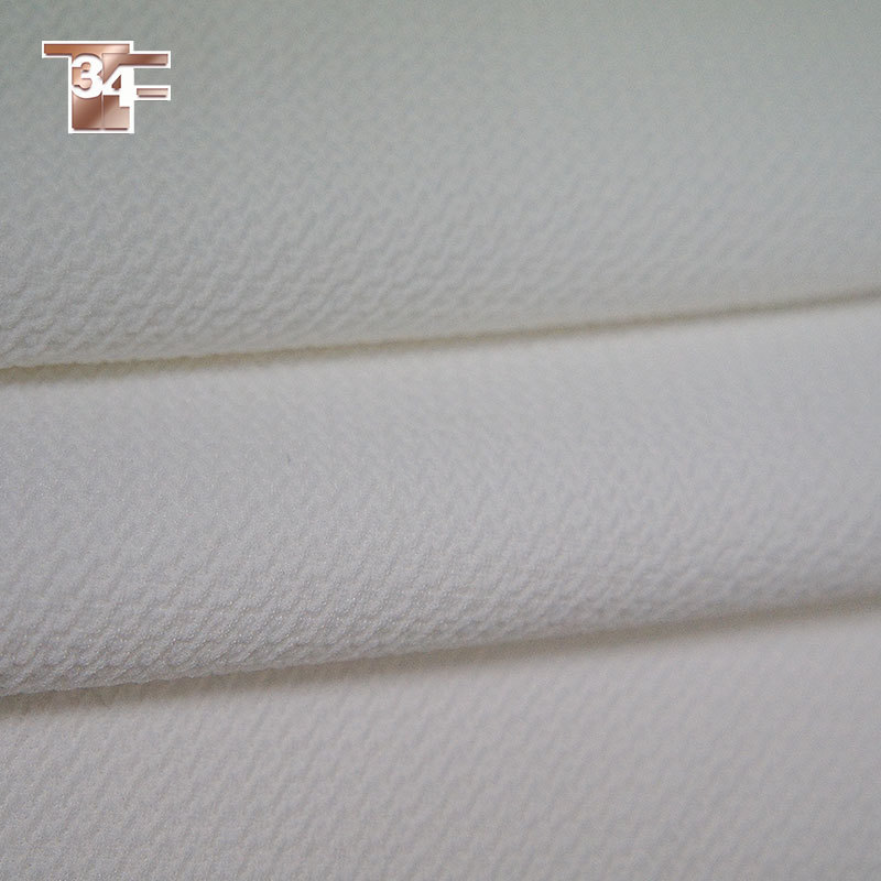 Free shipping clearance white polyester/spandex Composite fabric for autumn/spring suits,dress thick fabric for sewing SP696(China (Mainland))