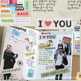 6 sheet/1 set planner stickers Korean stationary Vintage ponybrown message paper deco scrapbooking Sticker/  /sticky notes<br><br>Aliexpress