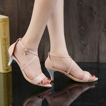 Plus Size shoes women sandals 2015 red bottom high heels sandals sapato feminino summer style summer shoes chaussure femme T111