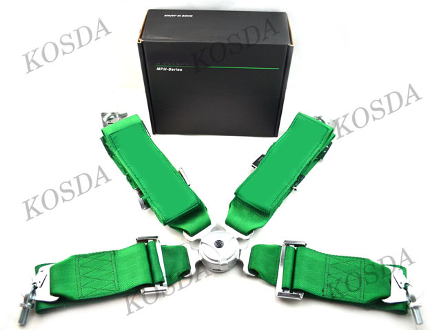 3'' 4-Point Racing Seat Belt Harness, Safety Harness (FIA Homologation before 2020)(China (Mainland))