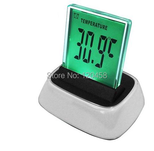 Moda moderna led display digital del reloj de escritorio for Reloj digital de mesa