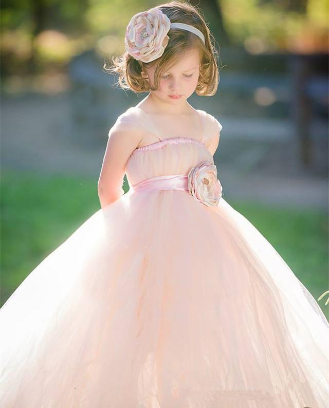 Tutu Pink Baby Dress Princess Flower Girls Dresses For ... - photo #21