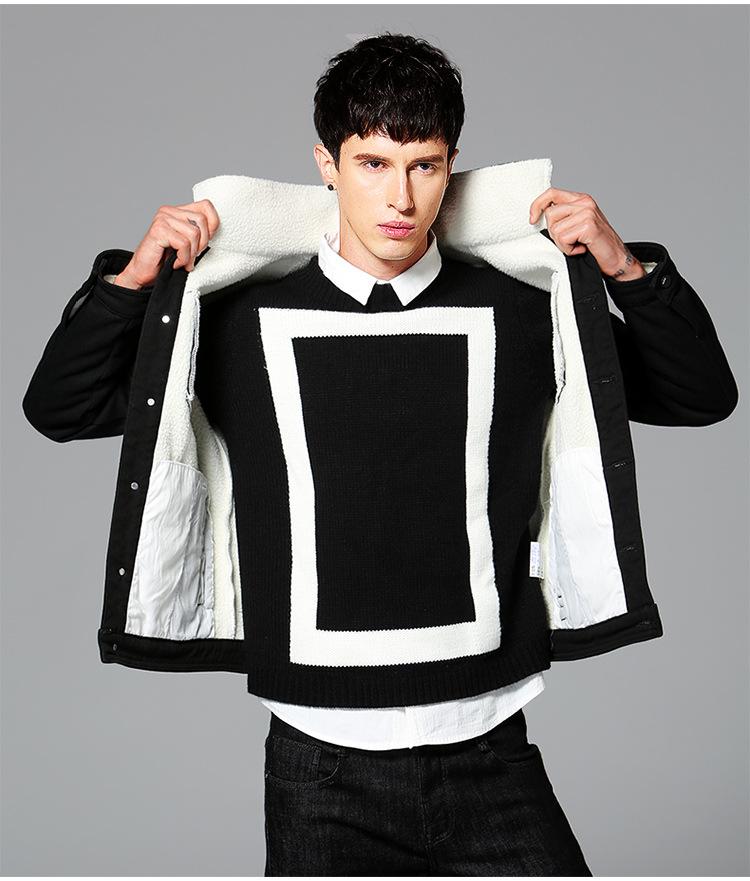 online kaufen gro handel herren jeansjacke ausgekleidet aus china herren jeansjacke ausgekleidet. Black Bedroom Furniture Sets. Home Design Ideas