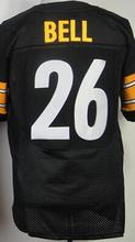 Men's 7 Ben Roethlisberger 43 Troy Polamalu 50 Ryan Shazier 84 Antonio Brown 26 LE'VEON BELL 92 JAMES HARRISON elite jerseys(China (Mainland))