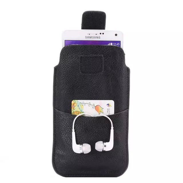 Case Design cell phone holster case : Cell Phone Bag PU Leather Pouch Belt Clip Holster Card Cover Case ...