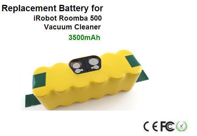 Battery Roomba 14.4V 3500mAh for iRobot Roomba 500(China (Mainland))