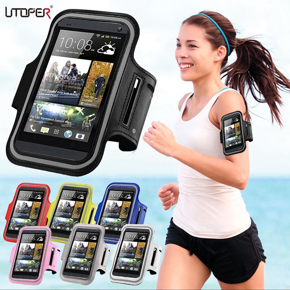 Running Sport Gym Armband Bag Case For HTC EVO 3D/One X/D700/One S/8X/X920e/X315e Waterproof Arm Band Mobile Phone Belt Cover(China (Mainland))