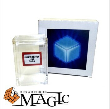 The Clarity Box by David Regal close-up street stage magic trick product free shipping(China (Mainland))