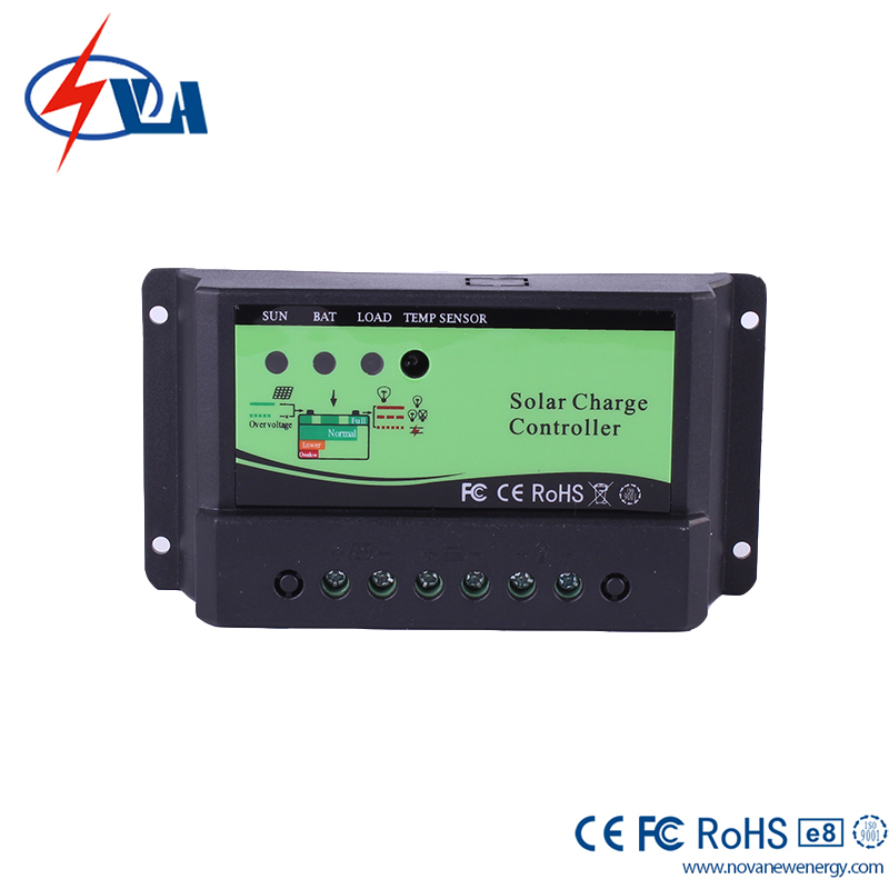 PWM Solar Charge Controller Solar Charge Controllers 12/24V AUTO 10A Solar System Controller(China (Mainland))