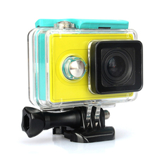 Hard Waterproof Case Cover Shell For Xiaomi Yi 1080P Action Camera Xiomi Yi Accessories Like SJCAM Hero Gopro SOOCOO Accessories