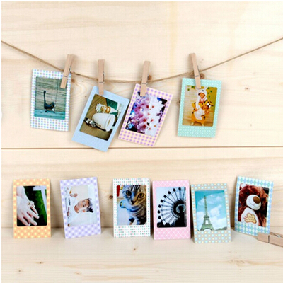 20 pcs diy photo albums lovely print scrapbook decorative paper instax mini film in photo. Black Bedroom Furniture Sets. Home Design Ideas