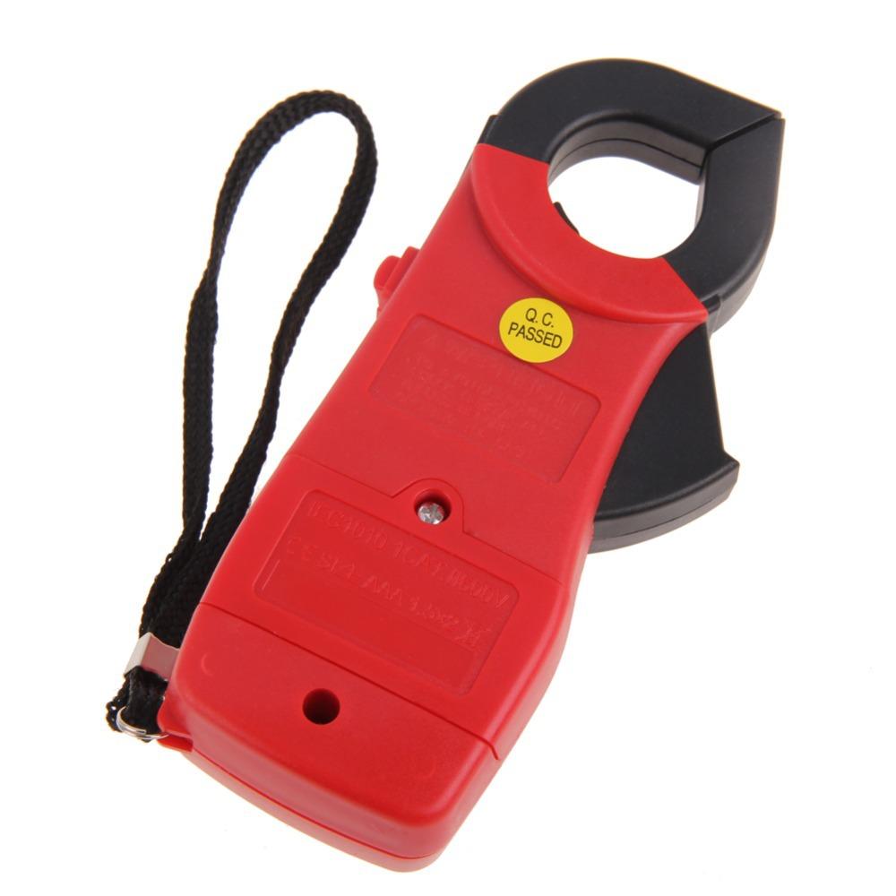 Hot Sale Red Digital LCD Clamp Multimeter Voltmeter Ammeter Ohmmeter Volt Tester high quality BS1V Free