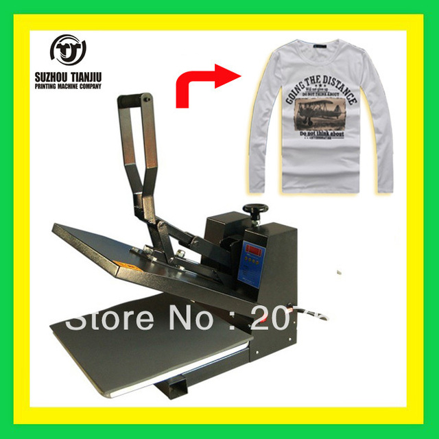 TJ T-shirts heat press machine,heat transfer machine 1700W 110V/220V