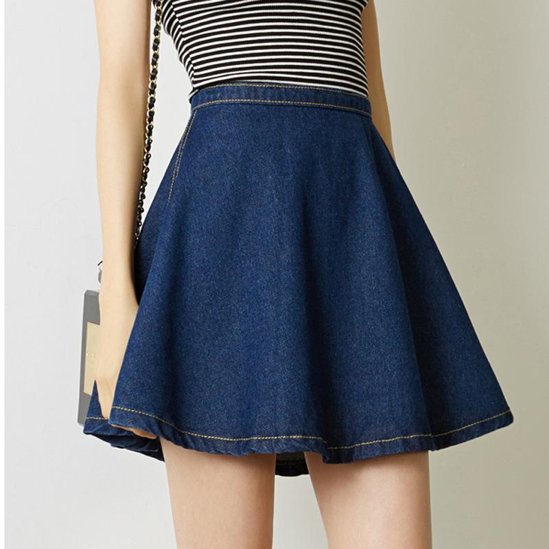 Denim Skirt A Line