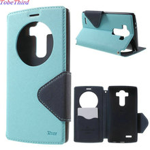 Buy TobeThird Case LG G4 Roar Korea Diary View Window Leather Stand Flip Cover Case LG G4 H810 H815 F500 F500K F500L for $7.59 in AliExpress store