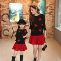 Children s children installed 2016 autumn new fashion mother women s children s bat shirt long