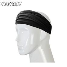 VEEVANV 2017 Fashion Black Headwear Girls Hair Band Cross-Stretch Cotton Bow Tie Headband Women/Ladies/Female Travel Accessories(China (Mainland))