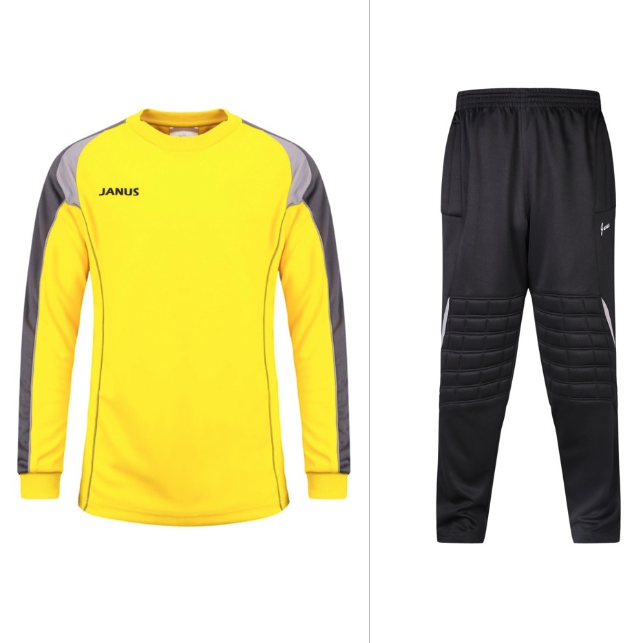 Janus 001 fabric football goalkeeper clothes suit soccer jerseys top training suits uniforms sets(China (Mainland))