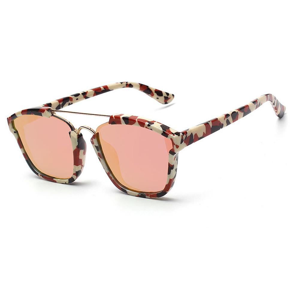 High quality women brand designer sunglasses round mirrored shades cat eye glasses CJ818(China (Mainland))