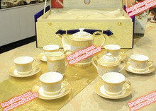 HMS luxurious ceramic tea coffee set tea set