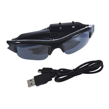 HOT mini  camcorder 1pc High Quality DV DVR wireless Sun glasses Camera Audio Video Recorder Hot Worldwide FreeShipping(China (Mainland))