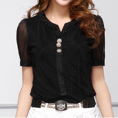 Женские блузки и Рубашки blusas femininas 2015 camisas