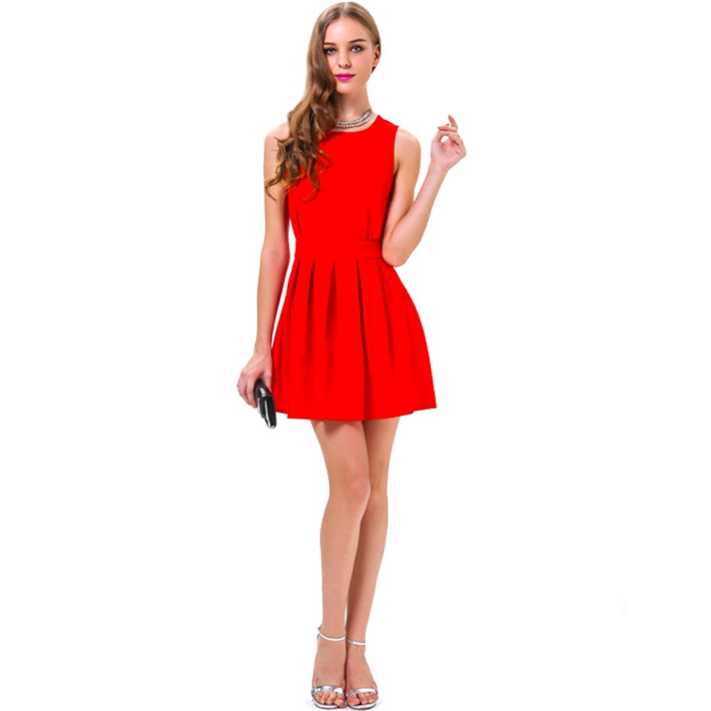 Womens Red Dress