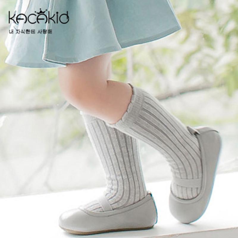 Newborn Toddler knee high sock Baby Boy bebe Girl Solid