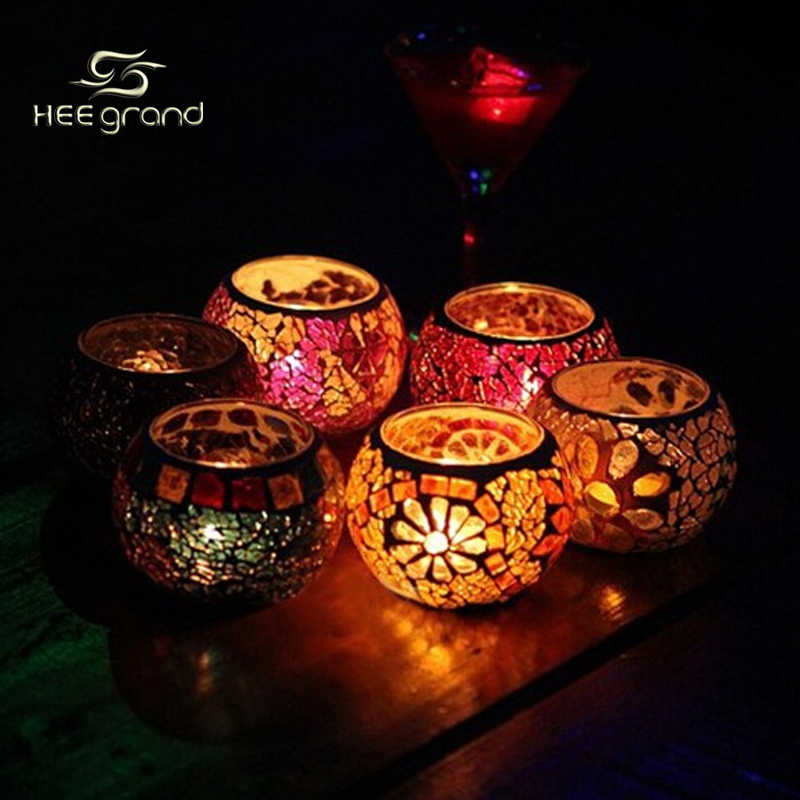 Fancy European Style Glass Candle Holders Romatic Lover's Candlestick Home Decoration Tealight ZHD021(China (Mainland))
